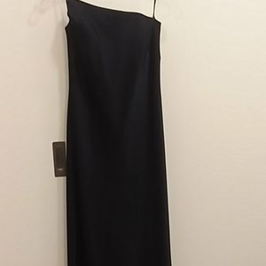Laundry long strapless dress in excellent conditio